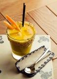 Cocktail culinario vegetariano Fotografia Stock Libera da Diritti