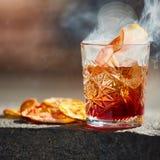 Cocktail démodé Negroni Image libre de droits