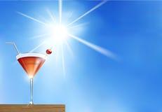 Cocktail d'été Photos libres de droits