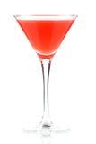 Cocktail d'alcool avec le jus et la grenadine d'orange Image stock
