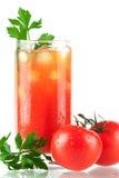 Cocktail d'alcool de Mary de sang Images stock