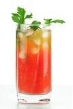 Cocktail d'alcool de Mary de sang Photographie stock
