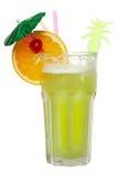 Cocktail d'isolement sur le blanc Photo stock