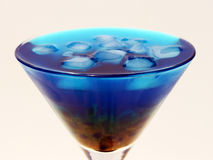 Cocktail d'océan Photo libre de droits