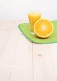 Cocktail d'orange Photos stock