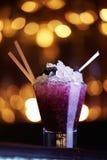 Cocktail da amora-preta imagens de stock royalty free