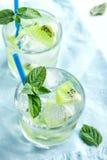 Cocktail da bebida do quivi Fotos de Stock