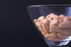 Cocktail da droga Fotografia de Stock