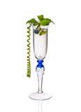 Cocktail da hortelã em um vidro Imagem de Stock Royalty Free