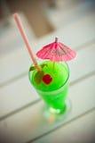 Cocktail da maçã de Grern Imagem de Stock