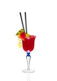 Cocktail da melancia em um vidro Fotos de Stock