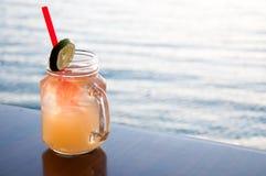 Cocktail da mula de Moscou Imagem de Stock