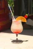 Cocktail da praia Imagem de Stock