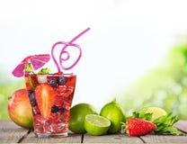 Cocktail da praia Imagem de Stock Royalty Free