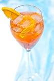 Cocktail de Aperol fotografia de stock