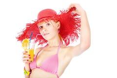 Cocktail de bikini Images stock