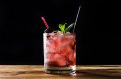 Cocktail de Blackberry Fotografia de Stock Royalty Free