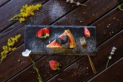 Cocktail de boissons de dessert de légumes de pâtes de légumes de plat de délicatesse de viande de nourriture photos libres de droits
