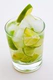 Cocktail de Caipirinha Imagem de Stock Royalty Free