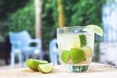 Cocktail de Caipirinha Fotografia de Stock Royalty Free