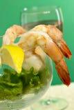 Cocktail de camarão Imagens de Stock Royalty Free