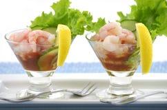 Cocktail de camarão Fotografia de Stock Royalty Free