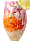 Cocktail de camarão isolado Imagem de Stock