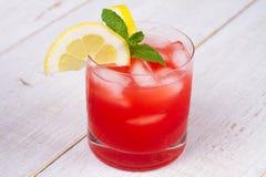 Cocktail de Campari et de vermouth photos libres de droits