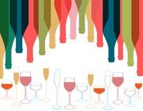 Cocktail de carte Photographie stock