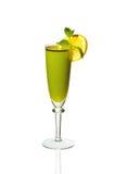 Cocktail de chaux dans un verre Images stock