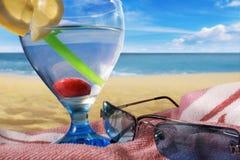 Cocktail de citron Images libres de droits