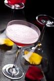 Cocktail de club de trèfle Photo libre de droits