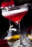 Cocktail de club de trèfle Photographie stock