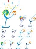 Cocktail de couleur Image stock