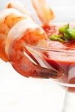 Cocktail de crevette image libre de droits