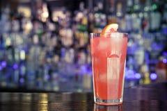 Cocktail de daiquiri avec le jus de pamplemousse Photographie stock