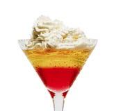 Cocktail de dessert Photos stock