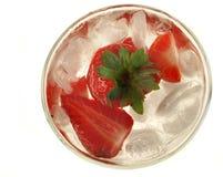 Cocktail de fraise Photo libre de droits