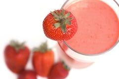 Cocktail de fraise Photographie stock