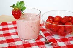 Cocktail de fraise Photos stock