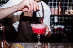 Cocktail de fraise Images libres de droits