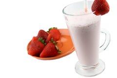 Cocktail de fraises Photos stock