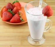Cocktail de fraises Image stock
