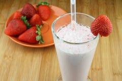 Cocktail de fraises Images libres de droits