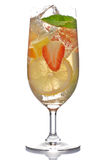 Cocktail de fruta Imagem de Stock Royalty Free