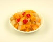 Cocktail de fruta aéreo da vista fotos de stock