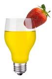 Cocktail de fruta da ampola Imagens de Stock Royalty Free