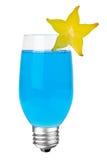 Cocktail de fruta da ampola Fotos de Stock