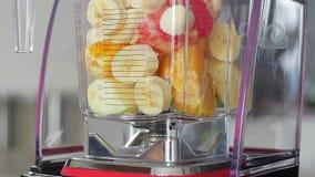 Cocktail de fruta fresca filme