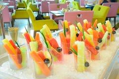Cocktail de fruta misturado Fotografia de Stock